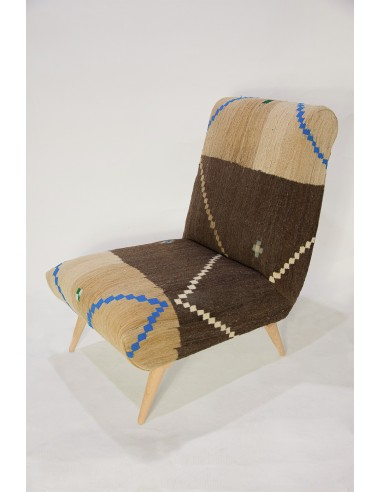 Tabarka Armless Chair - Unique piece