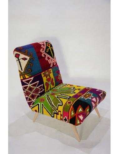 Tabarka Armless Chair - Unique piece