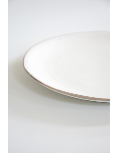 Lot de 6 - Assiettes plates grand modèle