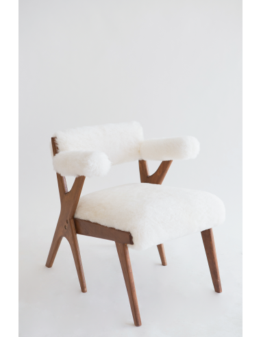Fauteuil Nura mouton